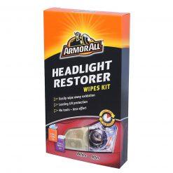 ArmorAll Headlight Restorer Wipes Kit - Sada utierok na obnovu zoxidovaných svetlometov