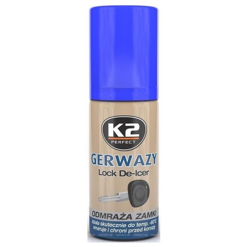 K2 Rozmrazovač zamkov 50ml
