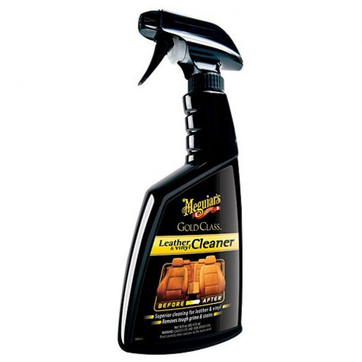 Meguiar's Gold Class Laather & Vinyl Cleaner - čistič na kožu a vinyl - 473 ml