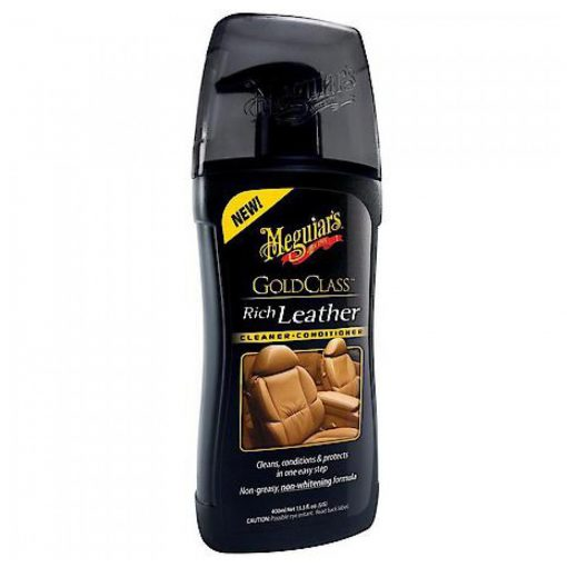 Meguiar's Gold Class Rich Leather Cleaner & Conditioner - čistič a kondicionér na kožu 400 ml