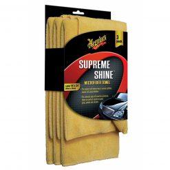 Meguiar's Supreme Shine Microfiber Towel 3-pack - mikrovláknová utierka 40x60 cm 3ks