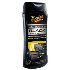 Meguiar's Ultimate Black Plastic Restorer - oživovač exteriérových a interiérových plastov 355 ml