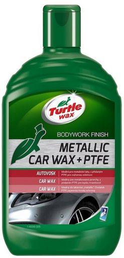Turtle Wax Metallic Car Wax + PTFE 500 ml