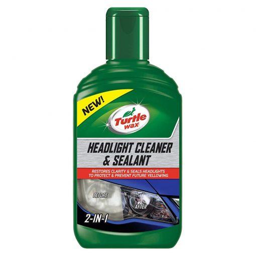 Turtle Wax Headlight Cleaner a sealant - obnova svetlometov 300ml
