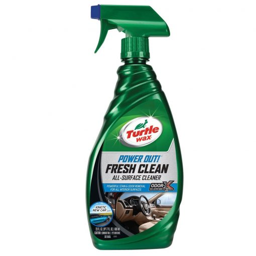 Turtle Wax Power Out Fresh Clean - Čistič škvŕn a odstraňovač pacha 500ml