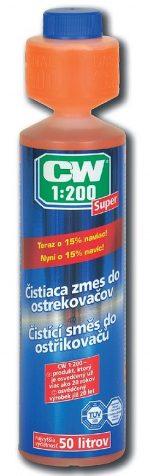 CW 1:200 Super – zmes do ostrekovačov 250ml