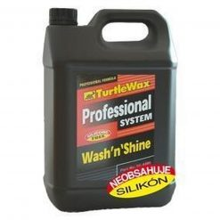 Turtle Wax Pro – Wash 'n' Shine šampón 5L